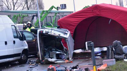 Twee doden en drie gewonden na ongeval