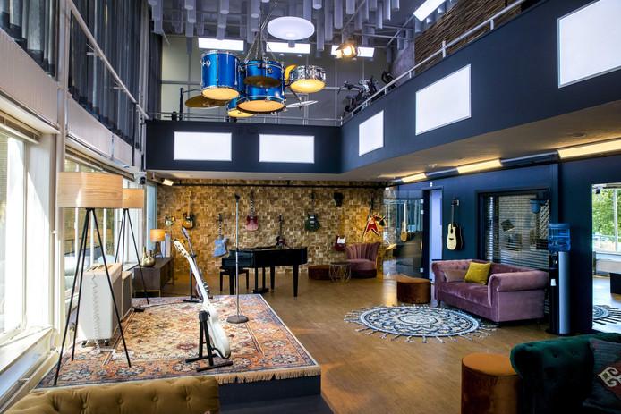 De repeteerruimte van het nieuwe SBS-programma House of Talent.