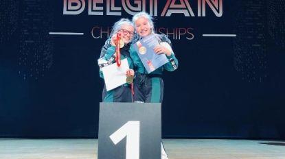 Beyoncé (14) en Fleur (13) winnen Belgisch kampioenschap duodans