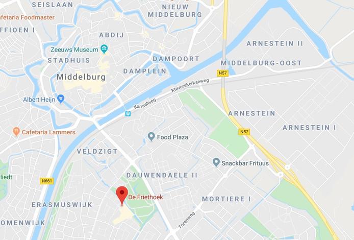 De Friethoek in Middelburg.