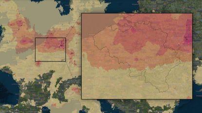 IN KAART. Vlaanderen bij meest vervuilde plekken ter wereld
