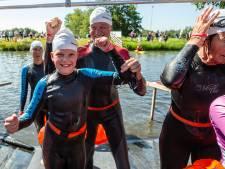 Minke (9) uit Hasselt zwemt voor Maarten uit: 'Veel gejuich'