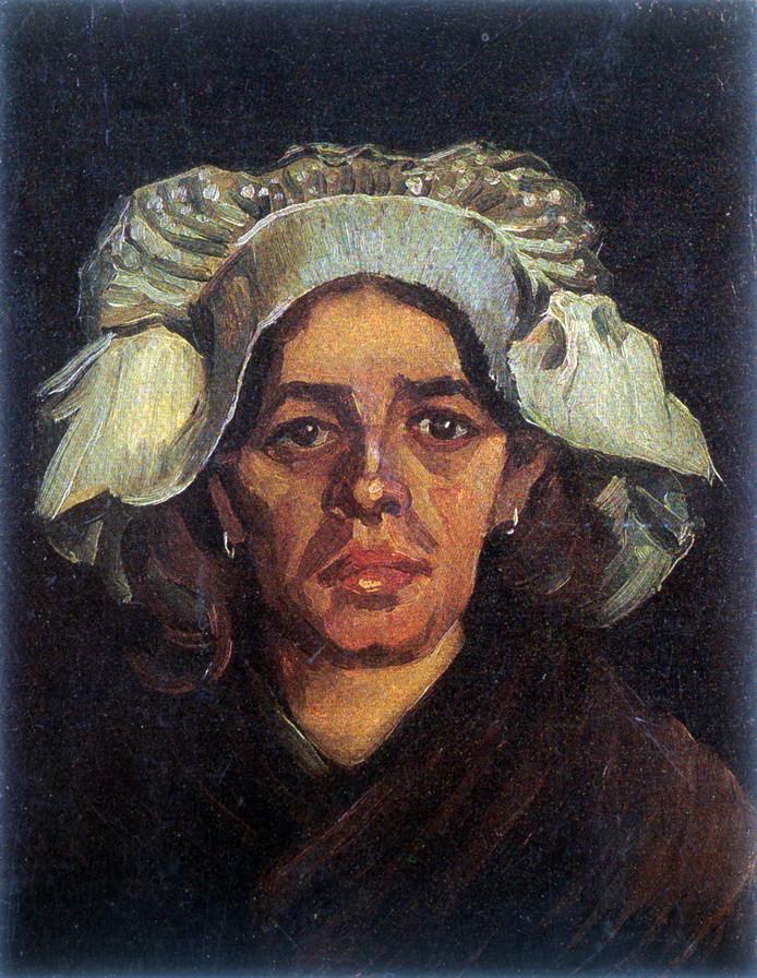 Sien de Groot, zoals getekend door Vincent van Gogh.