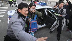 Ingangsexamens universiteiten leggen openbaar leven in Zuid-Korea even helemaal stil
