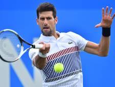 Djokovic naar halve finale in Eastbourne