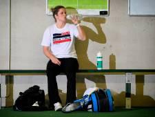 Kim Clijsters va s'entraîner avec l'équipe belge avant le duel contre le Kazakhstan