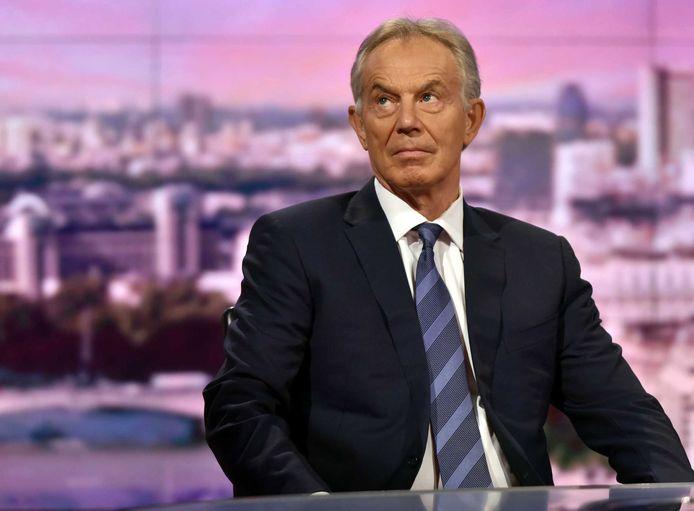 Blair vanochtend bij de BBC: 'Brexit berokkent het Verenigd Koninkrijk veel schade'.