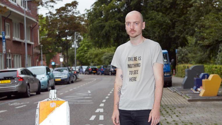 Bas van Wieringen: 'Ik was er in het begin goed ziek van.' Beeld null