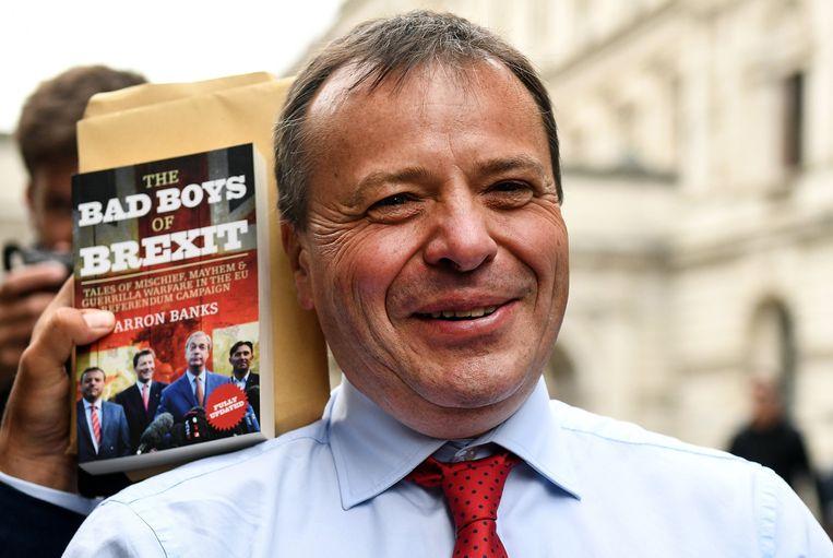 Multimiljonair Arron Banks was een van de grootste financiers van de brexit-campagne van Nigel Farage.