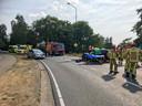 Twee gewonden bij ongeluk op Leenderweg in Heeze.