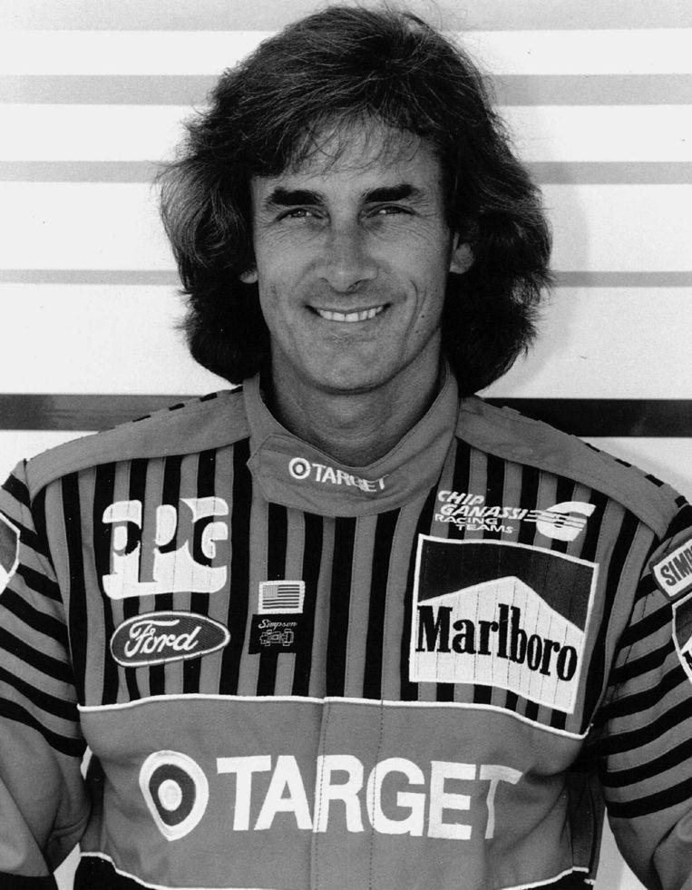 Arie Luyendijk als coureur in 1993. Beeld anp