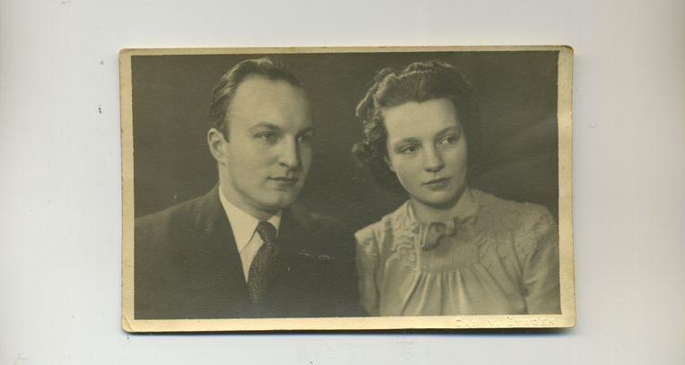 Gerrit en Corrie Driessen. Beeld