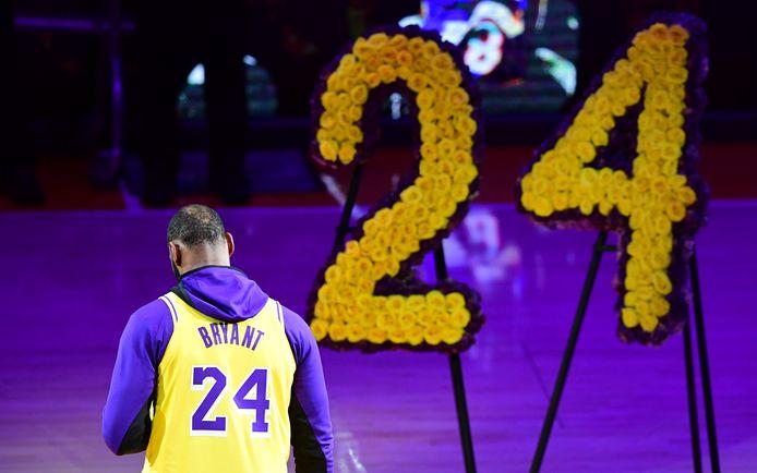 De speech van LeBron James voorafgaand aan de wedstrijd.