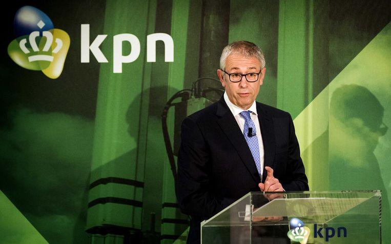 KPN-topman Eelco Blok. Beeld ANP