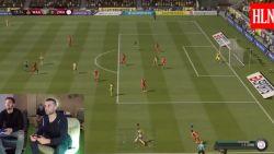 """Profs kruisen met zichzelf de degens op FIFA 19: """"Vanaf morgen train ik op afwerken"""""""
