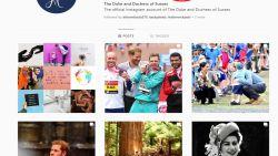 Harry en Meghan ontvolgen William en Kate op Instagram