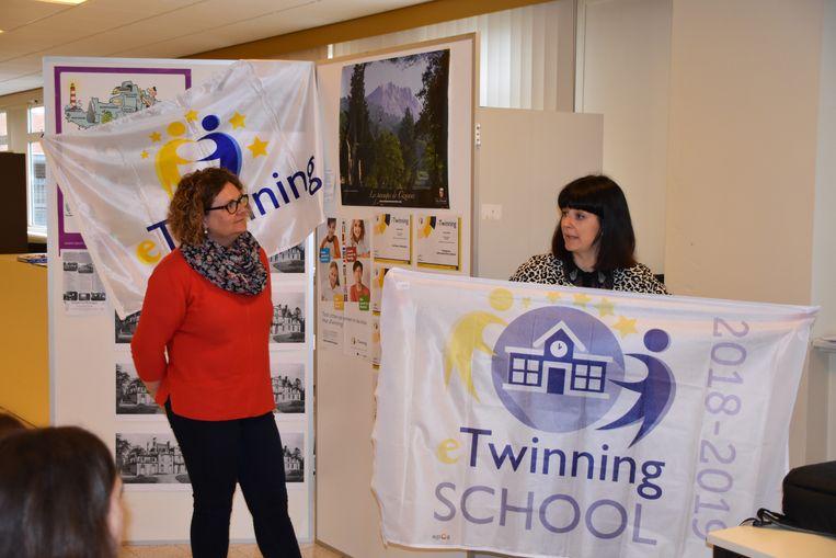 Sint-Janscollege ontvangt eTwinning School Label
