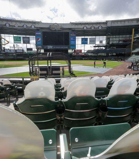 Weer honkbalwedstrijd uitgesteld om coronabesmettingen