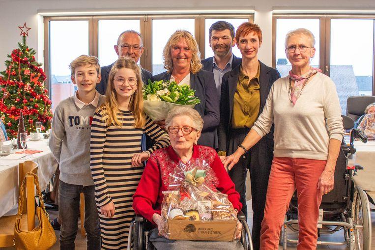Julie Verherstraeten vierde haar honderdste verjaardag.