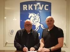 Henk Peters aan het roer bij RKTVC