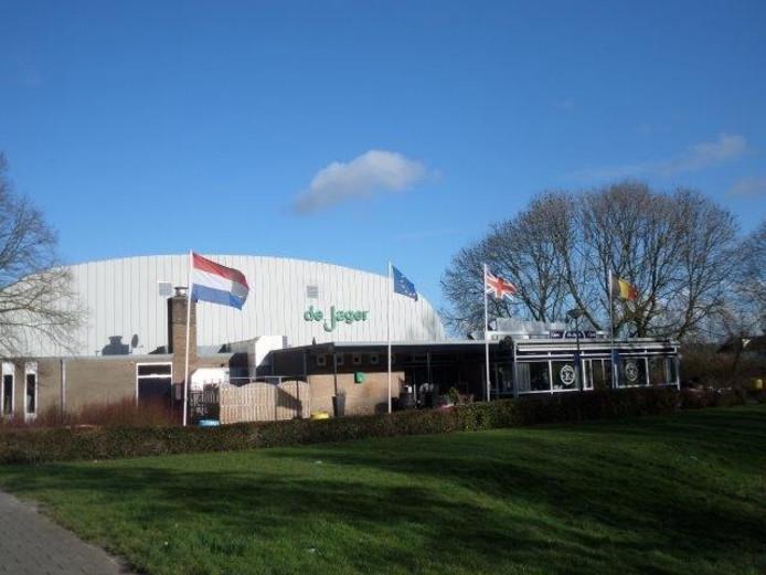 Sporthal De Jager in Giessen.