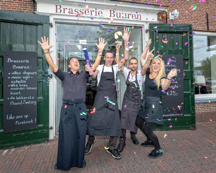 Deze zomer werd er nog gejuicht bij Brasserie Buuren toen het restaurant met een 8,5 de Gouden Pollepel won. Nu staat de zaak te koop.