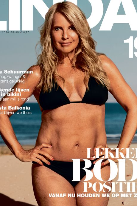 Linda in bikini op cover: 'Ik voel me dik en lelijk op dit soort foto's'
