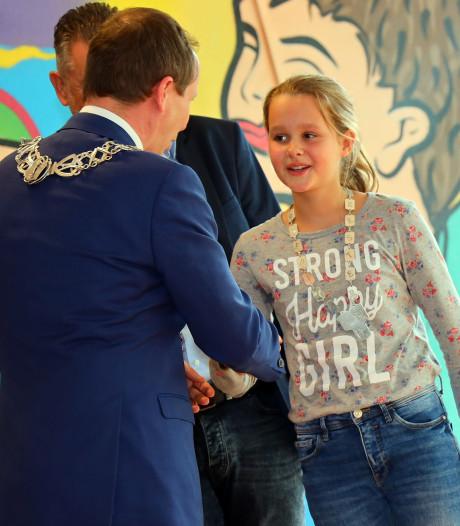 Valkenswaard heeft eerste kinderburgemeester, Iris Brom: 'Ik ga vooral goed luisteren'
