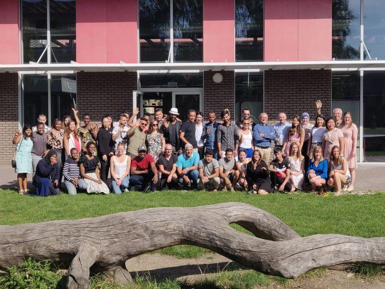 De cursisten studeerden zaterdag officieel af.