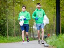 Elke maand zwerfvuil oprapen in Apeldoorn, ook tijdens het hardlopen