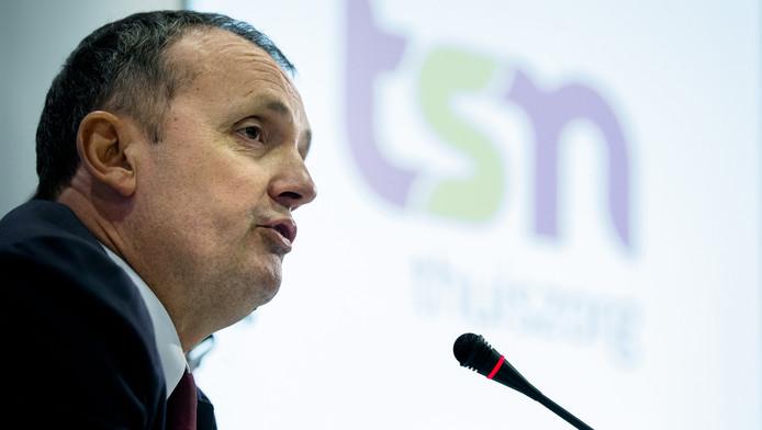 Directeur Zion Jongstra van TSN