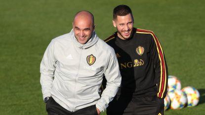 """Martínez in Spanje: """"Ik reken op Hazard voor het EK. Eden zal fit zijn"""""""