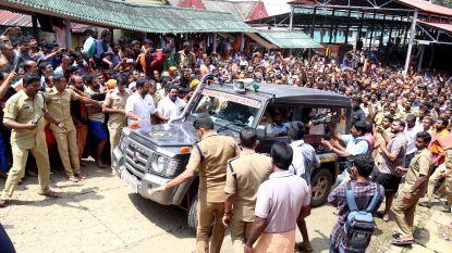 Meer dan 2.000 mensen gearresteerd bij rellen aan hindoetempel in India