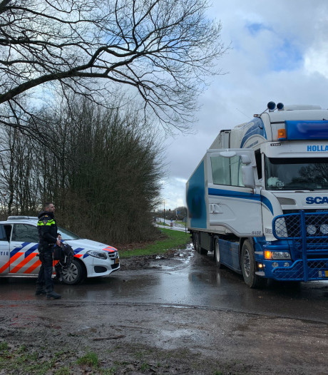 Truck aan de kant gezet in Boxtel: 48-jarige man uit Emmen aangehouden na conflict