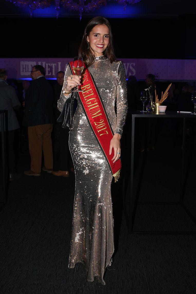 Miss België Romanie Schotte.