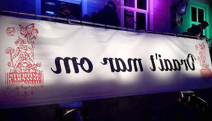 Carnavalsmotto Roosendaal in 2020: Draai 't mar om Foto André Verstijlen