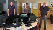 KC Tessenderlo Xenia en Alchemia schenken tien laptops aan Hartelust