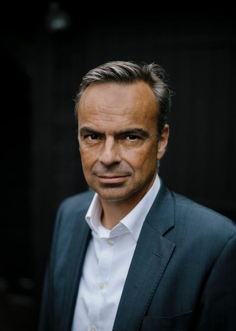Maarten Feilzer, topman van vastgoedbedrijf Zadelhoff Beheer. 'De kantorenmarkt is flinterdun.' Beeld Marc Driessen
