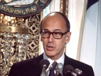 Franse oud-president Giscard d'Estaing (94), een van de architecten van Europese eenwording, overleden aan Covid-19