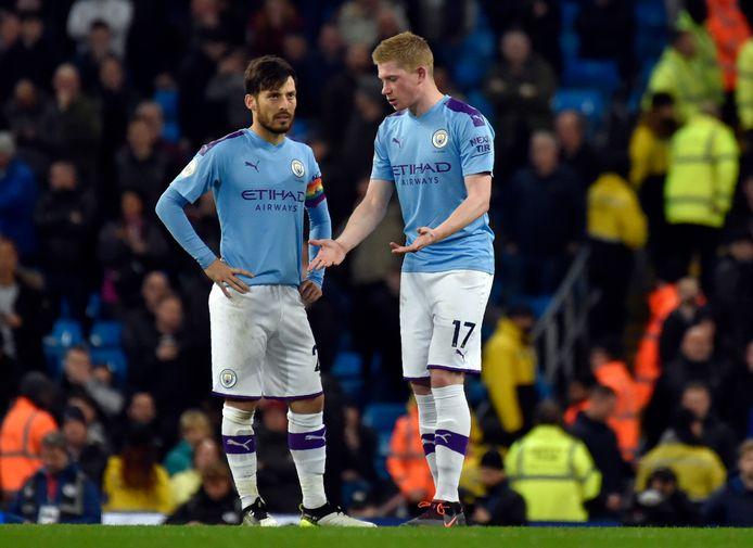 Un derby qui n'a pas souri à Kevin De Bruyne et Manchester City.