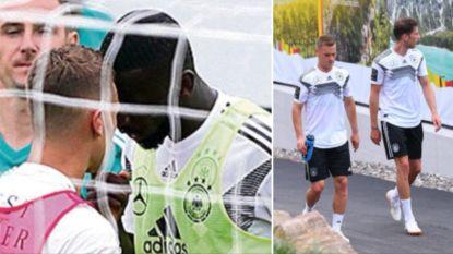 Hommeles bij de Duitsers: ploegmaat van Courtois en Hazard en collega staan plots neus aan neus tijdens training