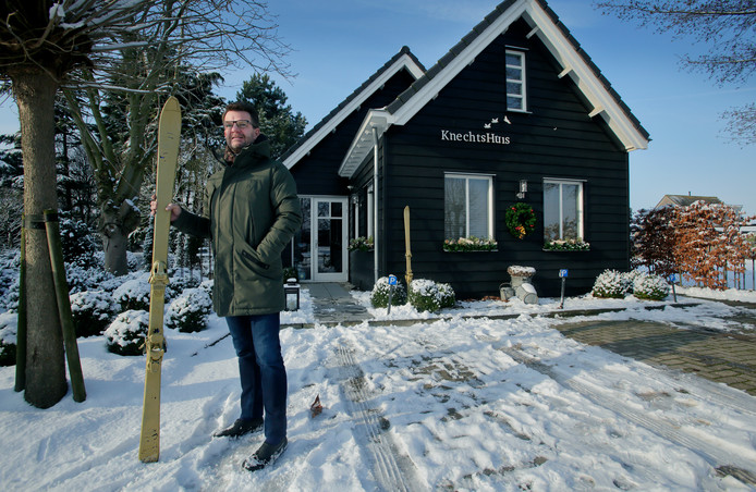 Cor van der Linde verdiende een 9,6 met zijn B&B Knechtshuis: 'Het is als een Michelin-ster.'