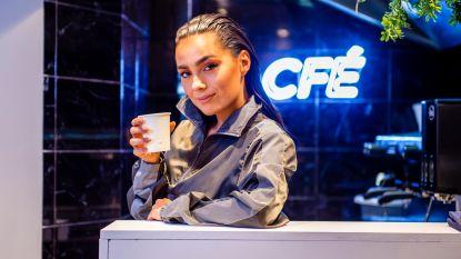IN BEELD. 'Junior Eurosong'-Tonya opent eigen koffiebar