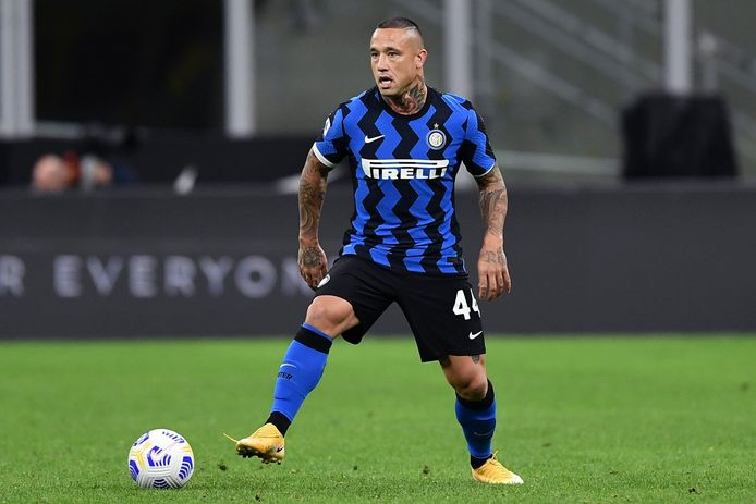 Radja Nainggolan FOOTBALL : FC Inter Milan vs ACF Fiorentina - Calcio - Serie A - 26/09/2020 © PanoramiC ! only BELGIUM !