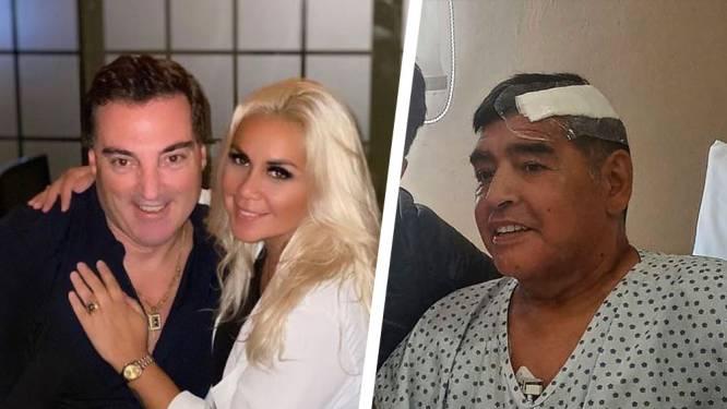 """Maradona stuurde zijn laatste audiobericht naar nieuwe partner van zijn ex en die is scherp: """"Ze hebben Diego laten sterven"""""""