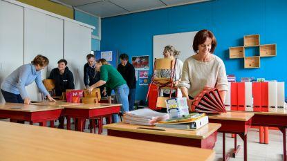 Na stormschade aan dak: vrije basisschool Heizijde krijgt grote schoonmaak en opent maandag weer de deuren