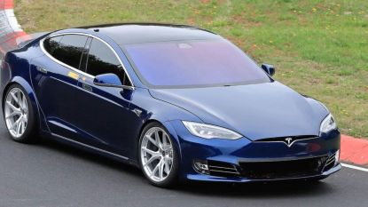 """Tesla verplettert Nürburgring-record Porsche Taycan"""