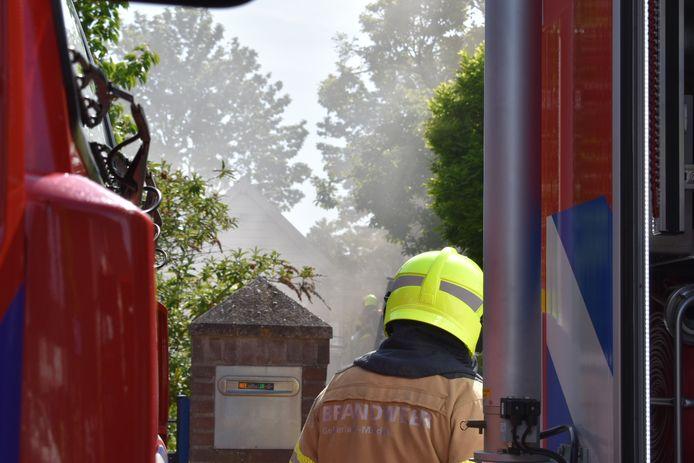 De brand in Elst aan de Woerd.