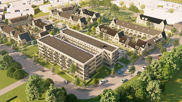 De Vughtse woonstichting Charlotte van Beuningen is gestart met de bouw van het grootste nieuwbouwplan ooit; 163 energiezuinige sociale huurwoningen en -appartementen in de Grote Zeeheldenbuurt.