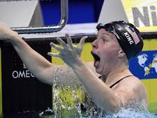 King wint 100 meter schoolslag in nieuw wereldrecord